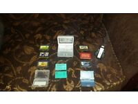 Gameboy advance sp with 6 games, the official charger and a spare battery