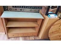 Light Oak 3 drawer unit