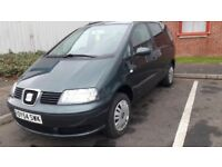2004 Seat Alhambra 1.9TDI (PD) . MOT 27/12/2018. Tow bar & electrics. Very good condition. £1250