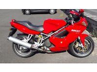 Ducati ST4 916 MOTORBIKE