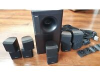 Bose Acousimass 10 series Speaker System and Sony Digital reciever