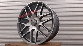 "K87* 4X NEW 20"" INCH ALLOY WHEELS ALLOYS MERCEDES C63 AMG S E C CLASS SL CLS 63S"