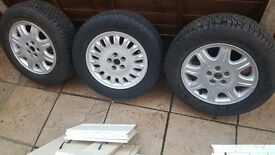 Rover 75 alloy wheels