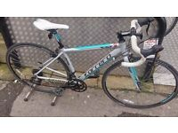 CARRERA ZELOS Femme Womens Road Racing Bike - 43cm - Fully Serviced £220