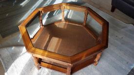 Beautiful Octagonal Coffee Table