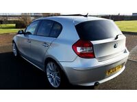 """2006 BMW 116I [5 DOOR] M SPORT LOOKS STUNNING IN""""GRAPHITE SILVER""""WITH PRIVACY GLASS(PART EX WELCOME)"""