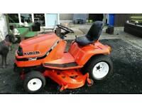 Kubota diesil ride on mower