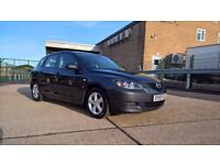 2007 MAZDA 3 TS, 1.6 PETROL, MANUAL, 94,100 MILES, 3 OWNERS, GOOD CONDITION WITH HISTORY