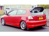 MINT CHEAP FACELIFT CIVIC EP3 TYPE R - RED - 2004 !! 1ST TO SEE WILL BUY!!!