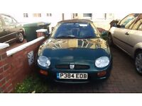 MG F 1,8 £220 or conversion to other car