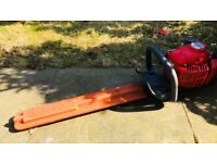 Echo hedge trimmer & tarus chainsaw
