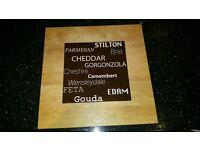 Rotating cheese board