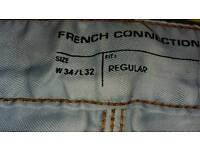 French connection mens jeans new