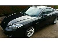 Hyundai Coupe Siii 2.0L 2008, black car for sale