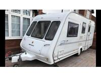 Compass rallye 2004 model 4 berth caravan