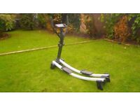 FITNESS SKI. WALKER MACHINE. WELSCO . WITH CALORIE COUNTER . COLLAPSABLE FOR EASY STORAGE.
