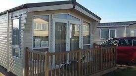2 bed 6 berth static caravan with shower room and en suite. 2014