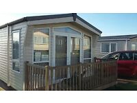 2 bed 6 berth static caravan with shower room and en suite. 2014