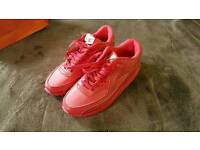 New Red Nike Trainers size 7uk