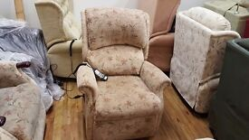 Ex-Display Petite Celebrity Regent Dual Motor Electric Recliner Chair, Delivery Available
