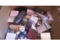 Box of avon products