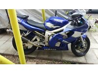 99 Yamaha Yzf-R6... Mapped, carbon can, 109bhp... Swap/ px