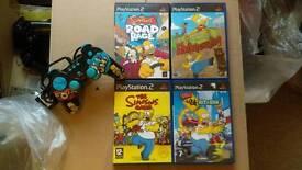 The Simpson PS2 Bundle
