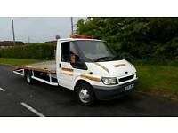 2004 ford transit recovery truck 16.5ft bed 11 months Mot brand new winch 4 new straps ready to work