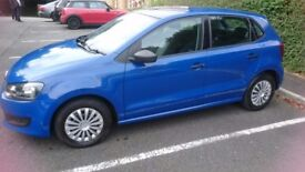 VW Polo 2010 Petrol 1.2 FSH MOT Road Tax