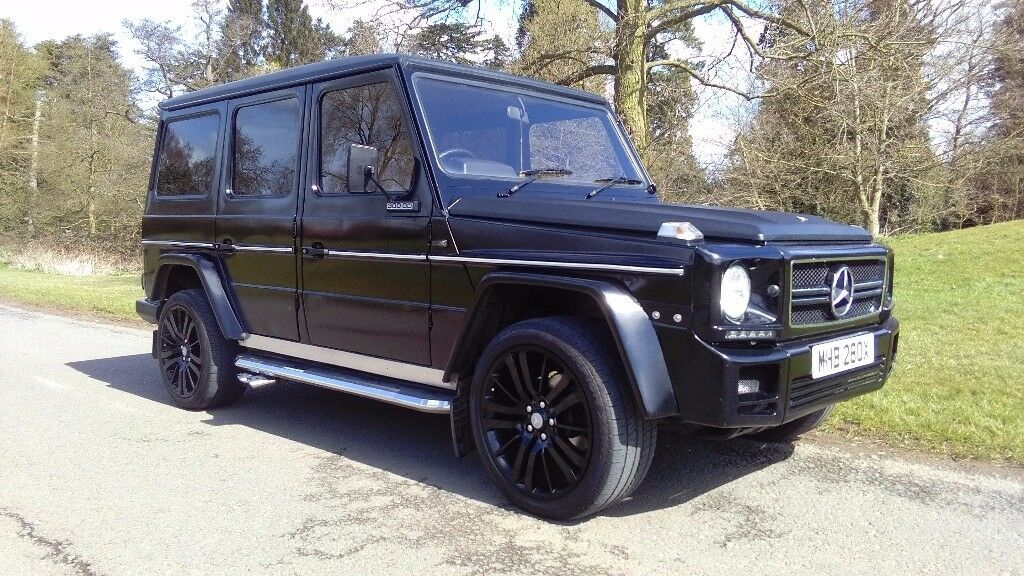 mercedes g class g wagon 3 0 turbo diesel amg styling 20 wheels heated leather seats in. Black Bedroom Furniture Sets. Home Design Ideas
