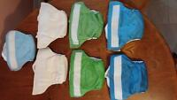 7 Bumgenius 4.0 Cloth Diapers