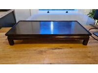 Low coffee table / bonsai tree table - solid wood