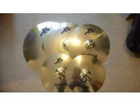 Sabian XS20 5 Piece Cymbal Set + Cymbal Case