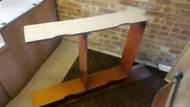 VW Dormobile camper van interior rear under bed frame and top panel fair condition very rare £50