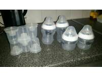 BRAND New Tommee Tippee Bottles and powder dispencers