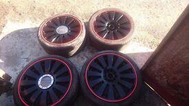 18 inch alloy wheels vw t4 audi skoda
