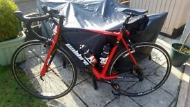 Calibre Road bike + loads of extras! Bargain!