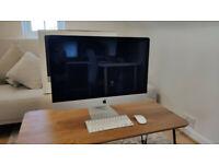 "Apple iMac 27"" Intel 3.2Ghz 16GB 250GB Samsung SSD Magic Mouse 2"