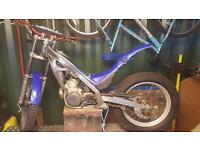 Sherco 250cc trials bike