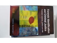 Law / criminology / forensics textbook - forensic identification and crminal justice