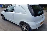 2007 Vauxhall corsa van 1.3 cdti May Px for a road bike or 250 2 stroke