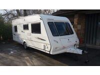 4 Berth Elddis Odyssey 544 Touring Caravan 2009