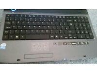 acer aspire 15.6 led laptop, 4gb ram, 500gb hd, hdmi, dvdrw, card reader, very good condition