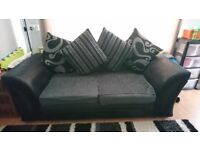 Sofa 2&3 seater dfs scatter back
