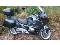 BMW R1100RT 1998 Good condition, low mileage, 8 months MOT, currently SORN