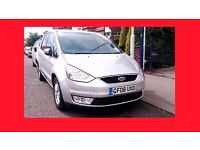 PCO --- 2008 Ford Galaxy 2.0 TDCi Zetec Diesel Automatic --- 7 Seater ----- alternate4 sharan previa