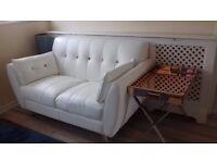2-seater Talent Leather Sofa (New-unused)
