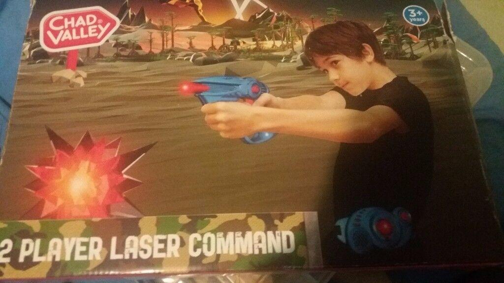 2 player Laser Command set