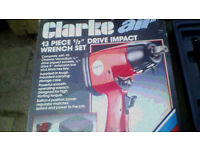 "Clarke 1/2"" Drive Impact Wrench Set"