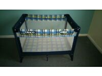 Travel cot - playpen for baby and toddler